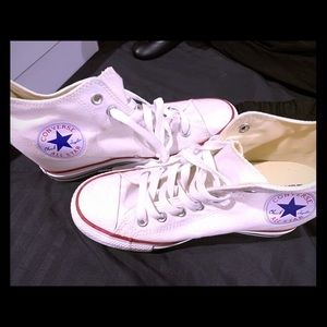 Ladies Size 9 Converse Wedge High Tops